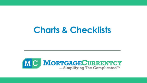 Charts & Checklists
